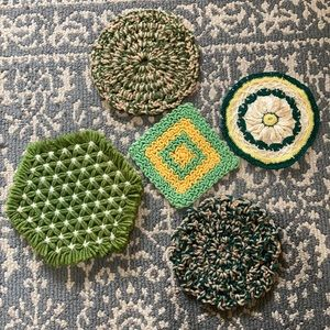 Vintage Crochet Hot Pads/Pot Holders